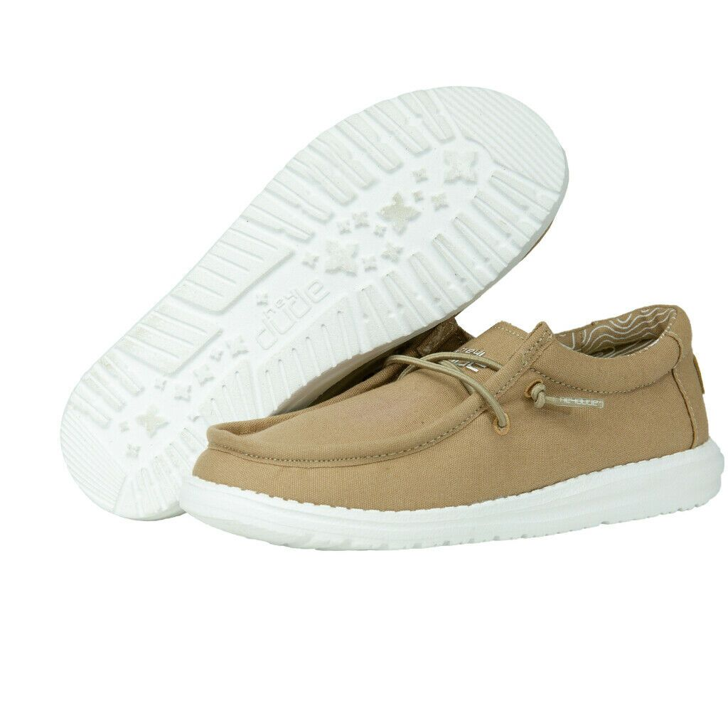 'Hey Dude' Youth Wally Linen - Tan
