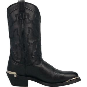 "'Laredo' Men's 12"" Atlas Western Round Toe - Black"