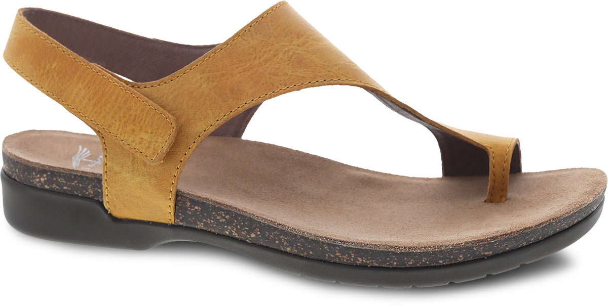 'Dansko' Women's Reece Sandal - Mango Waxy Burnished