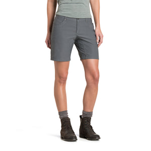 "'Kuhl' Women's 8"" Trekr Short - Charcoal"