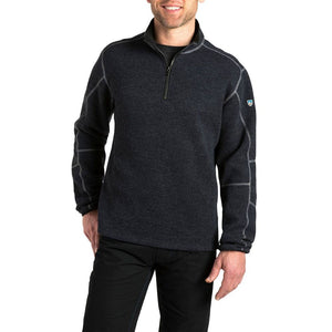 'Kuhl' Men's Thor 1/4 Zip Sweater - Pirate Blue