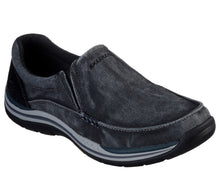 'Skechers' Men's Avillo Slip On - Black