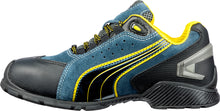Rio Low ESD Aluminum Toe Shoe - Navy / Black / Yellow