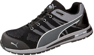 Elevate Knit ESD Composite Toe Shoe - Black / Gray / White