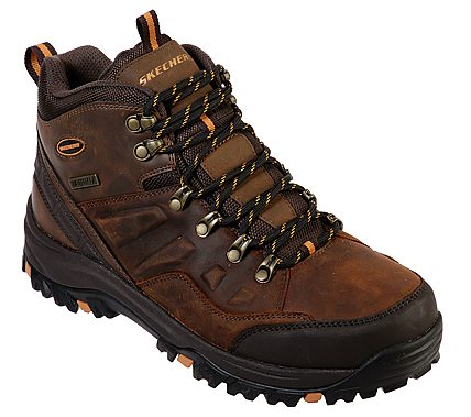 'Skechers' Men's Relment-Traven Boot - Brown