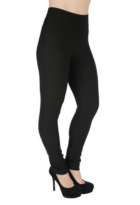 'Ethyl' 655PBLK - Women's Basic Legging - Black