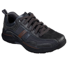 'Skechers' Men's Expended Manden Lace Up  - Charcoal (Wide)