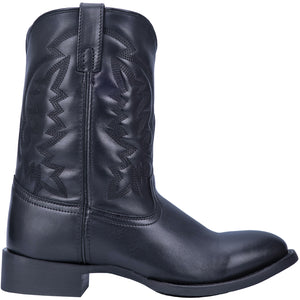 "'Laredo' Men's 10"" Crawford Western Round Toe - Black"