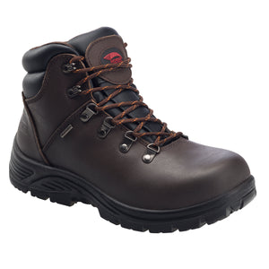 "'Avenger' Men's 6"" Steel Toe WP EH - Dark Brown"