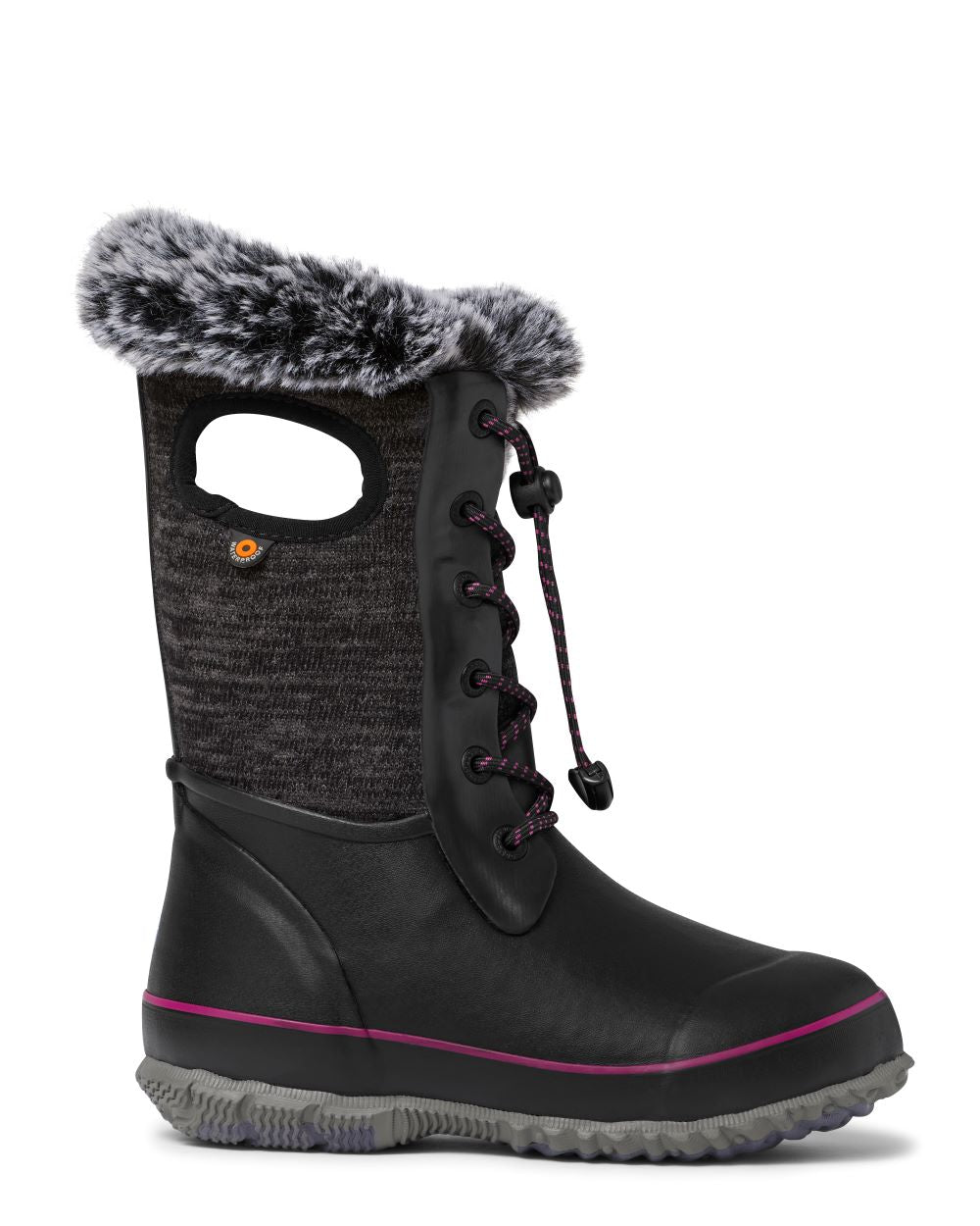 'BOGS' Kids' Arcata Knit Insulated WP Winter - Black Multi