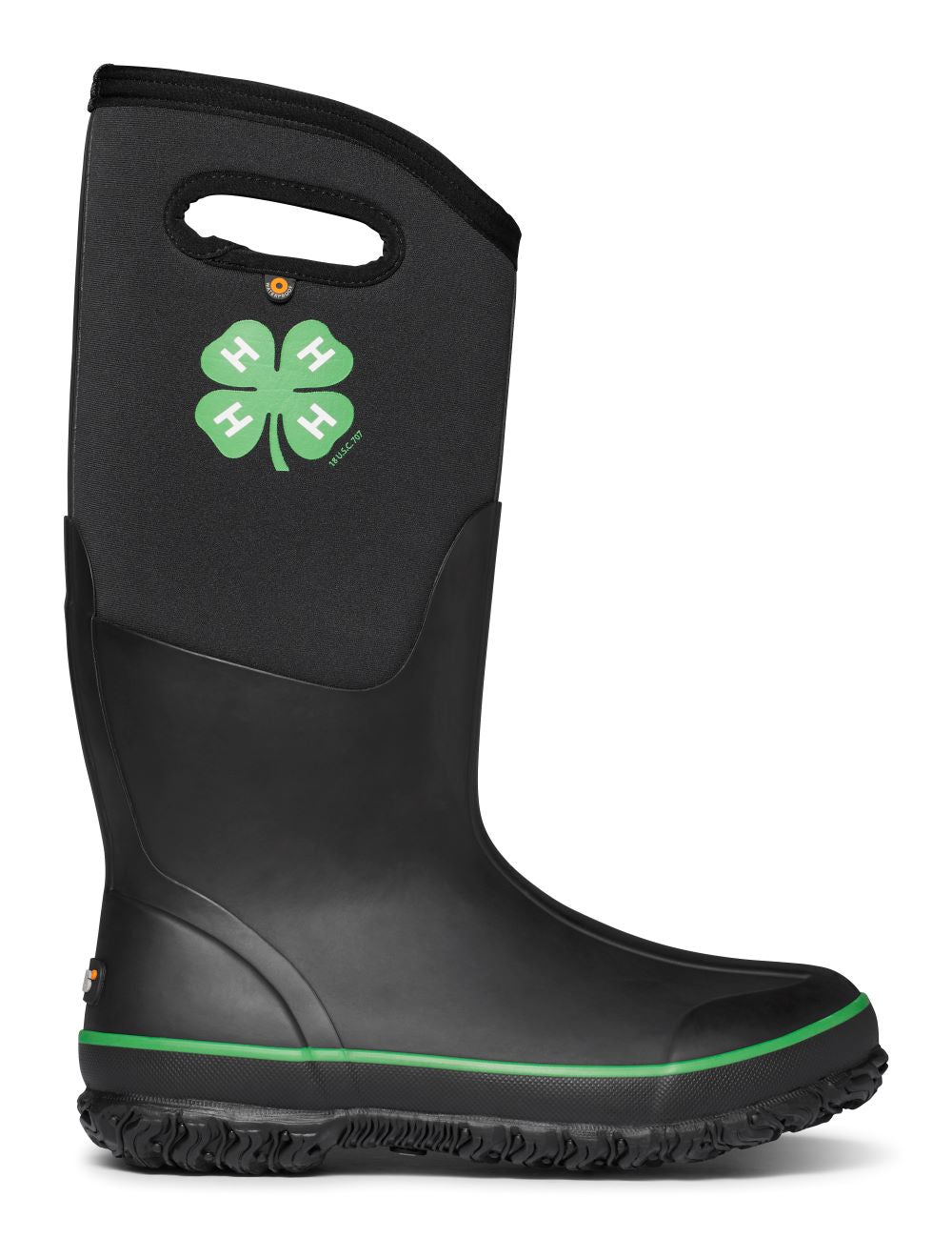'BOGS' Women's Classic Tall 4H Farm Boot - Black