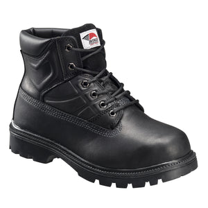"'Avenger' Men's 6"" Steel Toe EH Internal Metguard - Black"