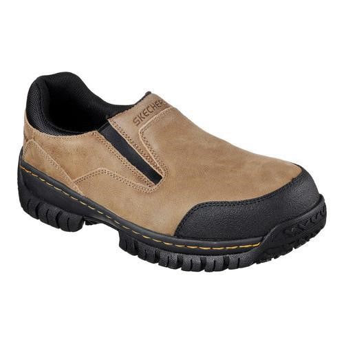 Hartan Steel Toe Slip On - Brown