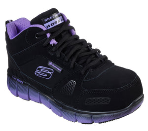 'Skechers' Women's Teflin Chedi ESD Work - Black / Purple