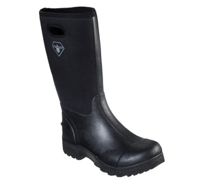"'Skechers' Men's 13"" Wierton Mid WP Neoprene Boot - Black"