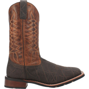 "'Laredo' Men's 11"" Dillon Western Square Toe - Brown"