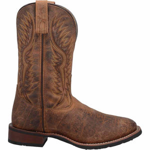 "'Laredo' Men's 11"" Pinetop Western Round Toe - Brown"