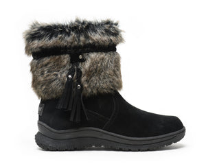 'Minnetonka' 80080 - Women's Everett Boot - Black