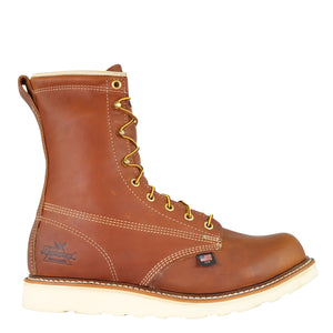 "'Thorogood' Men's 8"" American Heritage EH SR Steel Toe - Tobacco Brown"