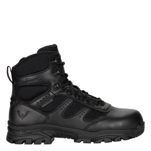 "'Thorogood' Men's 6"" Deuce WP Tactical Side Zip Soft Toe - Black"