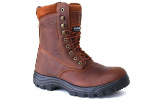"8"" Work Boot Waterproof Steel Toe - Brown"