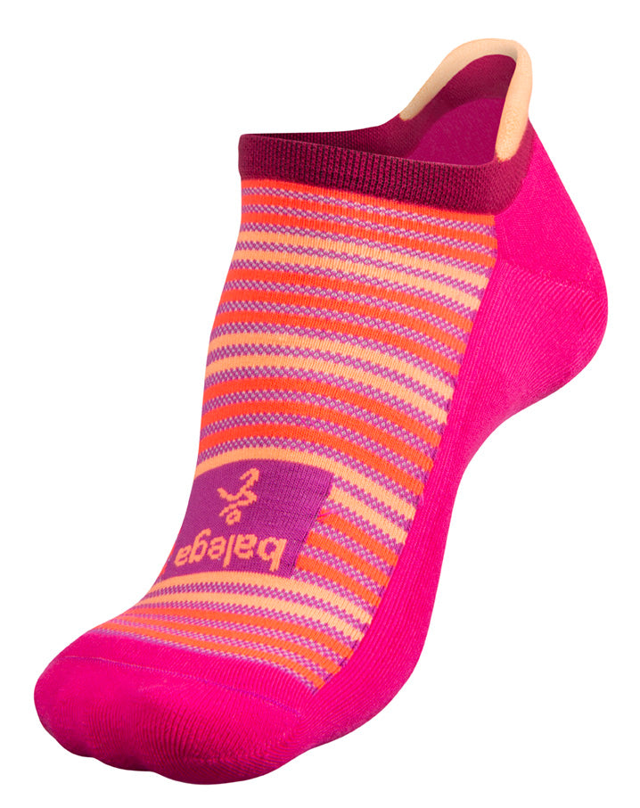 'Balega' Hidden Comfort - Electric Pink / Pinkberry