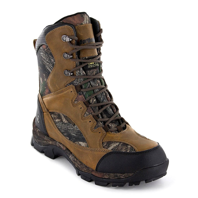 'Northside' Men's Renegade 800GR WP Hunting Boot - Brown / Camo
