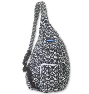 'KAVU' Rope Bag - Static Rhombus