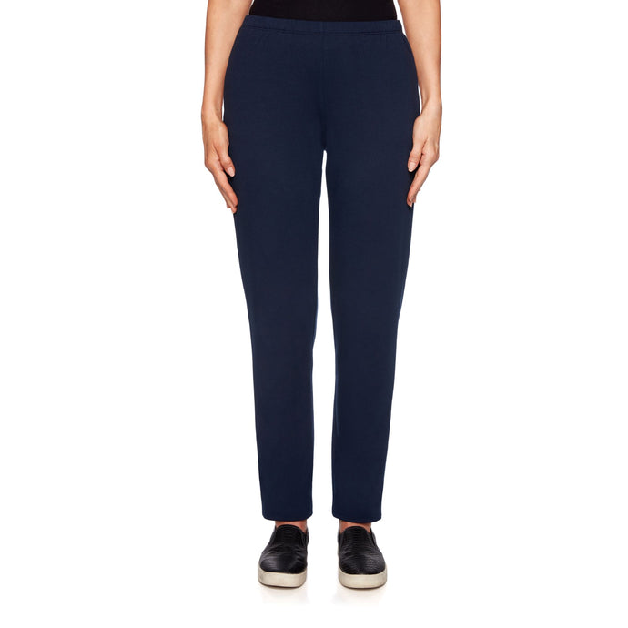 'Ruby Rd.' French Terry Pant - Navy