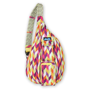 'KAVU' Rope Sling - Chevron Punch
