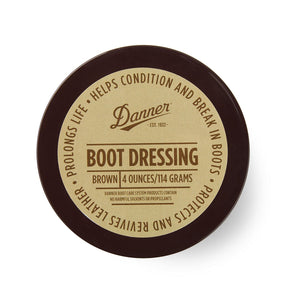 Boot Dressing / Waterproofing 4 Oz. - Brown