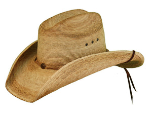 'Lone Star' LSRV4E - Reeves Straw Hat - Brown
