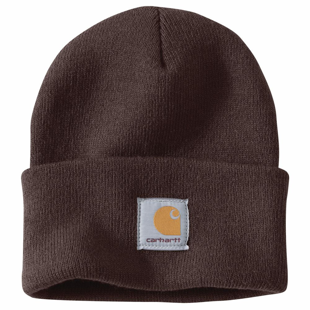 'Carhartt' Men's Acrylic Knit Watch Hat - Dark Brown