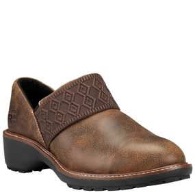 Riveter ESD Alloy Toe Slip-On - Full Grain Brown