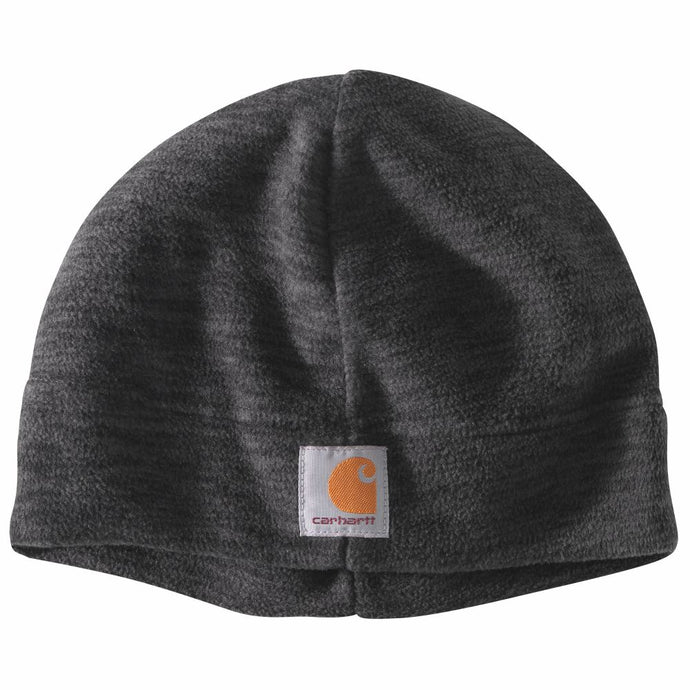 'Carhartt' Men's Fleece Beanie - Black / Steel