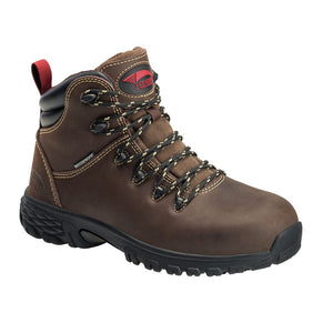 "'Avenger' Women's 6"" Flight EH WP Alloy Toe - Brown"