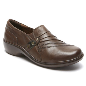 'Rockport' AAG08DBR - Women's Danielle Slip On - Dark Brown