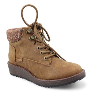'Blowfish Malibu' Women's Comet Wedge Bootie - Brown