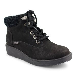 'Blowfish Malibu' Women's Comet Wedge Bootie - Black