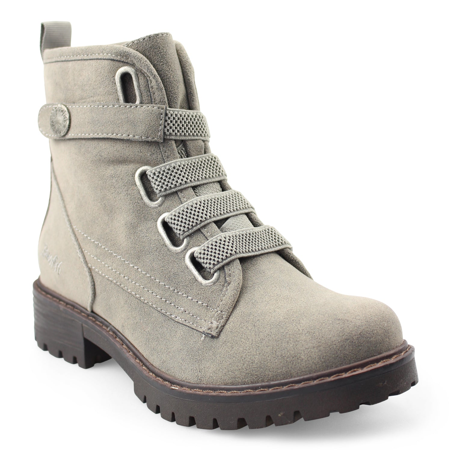 'Blowfish Malibu' BF-8205 001 - Women's Raco Boot - Smoke