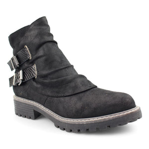 'Blowfish Malibu' Women's Romio4Earth Lug Boot - Black
