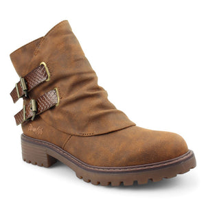 'Blowfish Malibu' Women's Romio4Earth Lug Boot - Brown