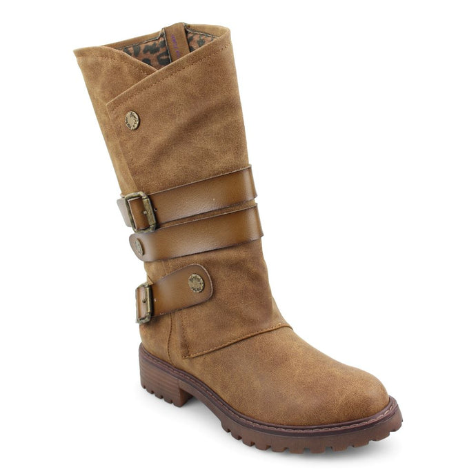'Blowfish Malibu' Women's Raexy Lug Boot - Brown