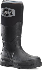"'Carolina' Men's 15"" Mud Jumper EH WP Rubber Boot - Black"