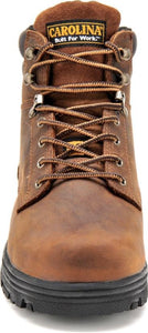 "'Carolina' Men's 6"" Foreman Internal Metguard Steel Toe - Dark Brown"