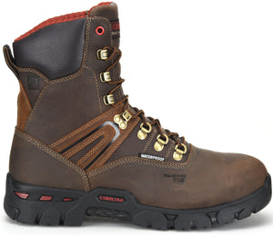 "Coiler Hi 8"" Composite Toe Boot - Brown"