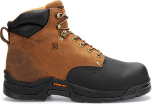 "'Carolina' Men's 6"" Bruno Internal Metguard Comp Toe - Tan / Black"