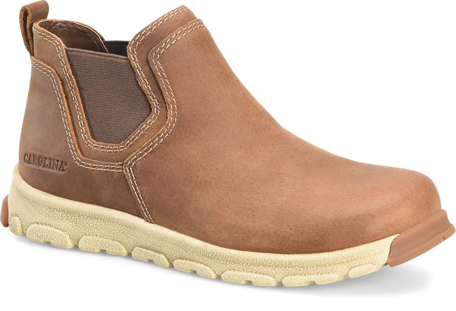 'Carolina' Men's Romeo Lightweight ESD SR Aluminum Toe - Tan / Brown