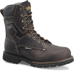 "'Carolina' Men's 8"" Pitstop 800GR WP Insulated Boot - Grey"