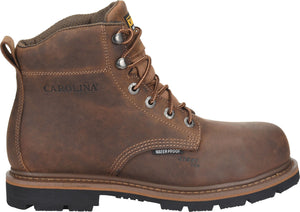"'Carolina' Men's 6"" Dormer EH WP - Brown"